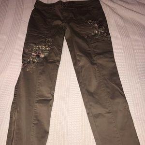 WHBM skinny pants . Size 8